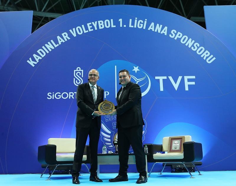 Sigorta Shop, TVF Kadınlar Voleybol 1.Ligi'ne isim sponsoru oldu