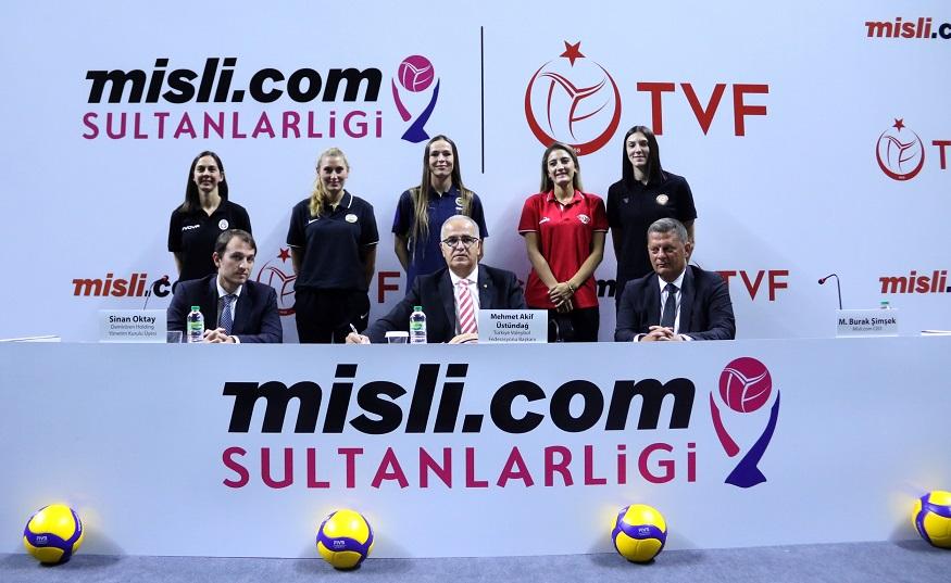 """Misli.com """"Sultanlar Ligi""""nin yeni isim sponsoru"""